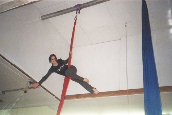 Aerial Fabric Crane Bar