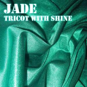 Jade Shiny Fabric