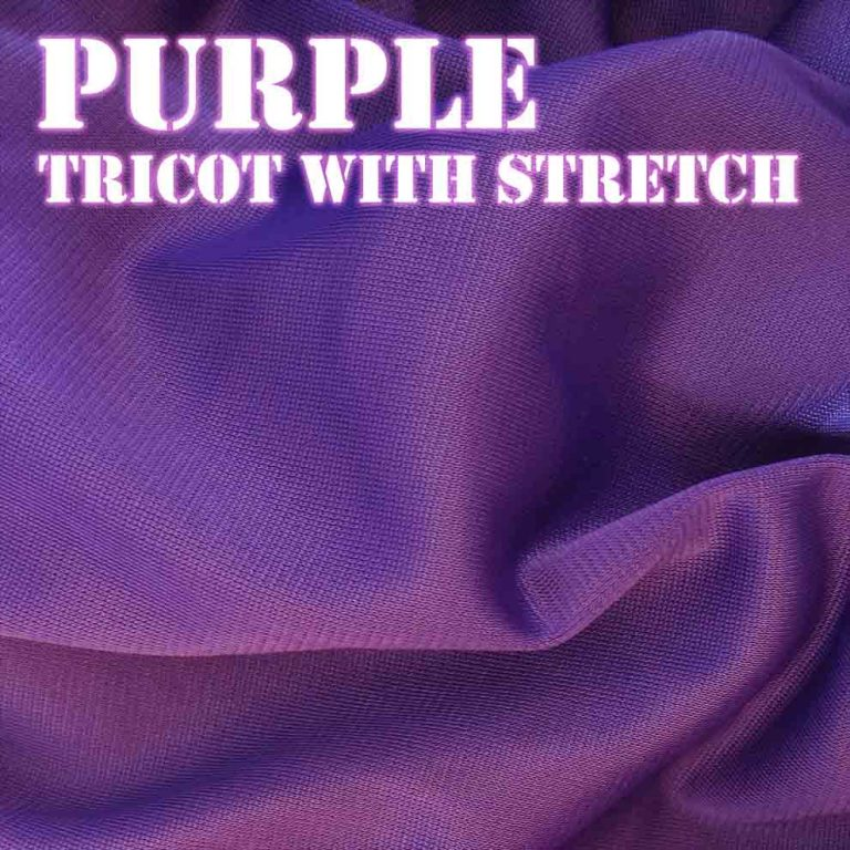 Bouncy Purple Fabric