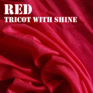 Red Shiny Fabric