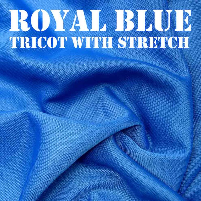 Bouncy Royal Blue Fabric