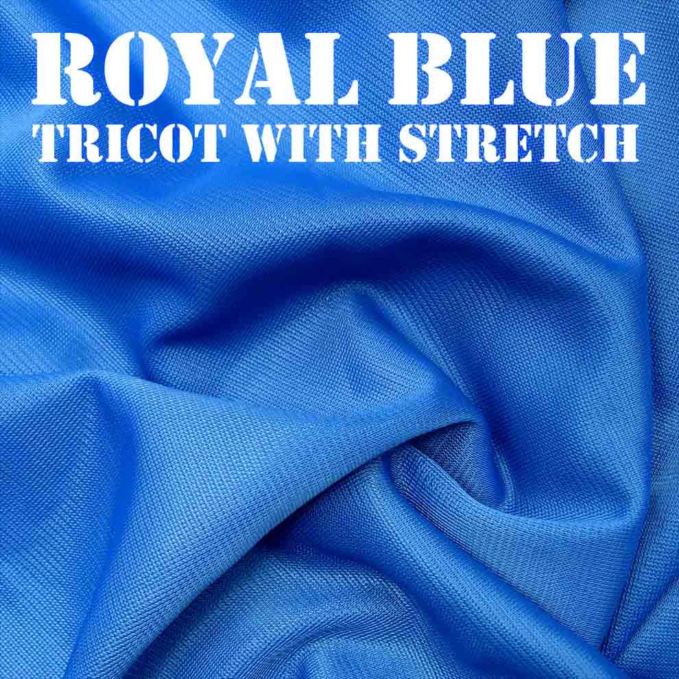 Bouncy Royal Blue Fabric
