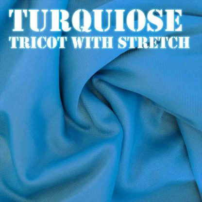 Bouncy Turquoise Fabric