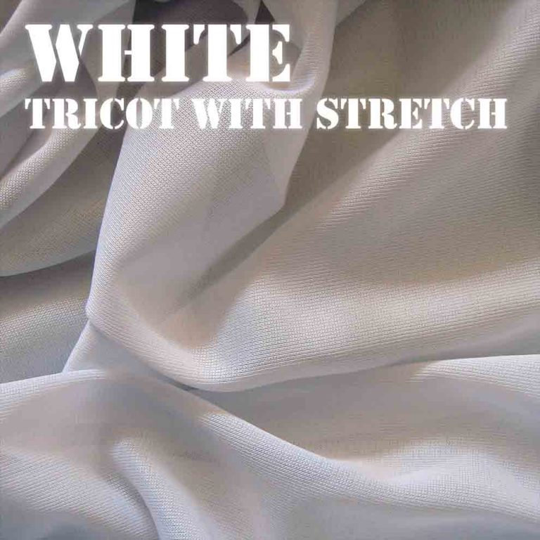 Bouncy White Fabric