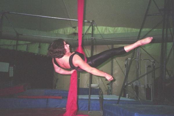 Aerial Fabric practice