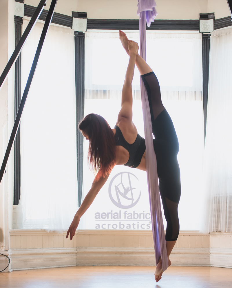 Medium image of aerial yoga hammock single point