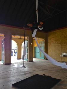 Aerial Fabric Acrobatics Fantastic Rumpus-Sara on Silks