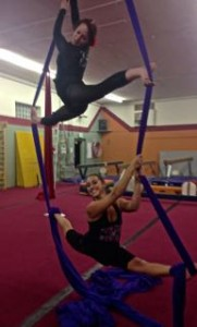 Aerial Fabric Amy Nash Duo Silks Workshop