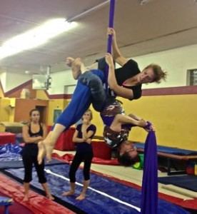 Aerial Fabric Duo Silks Workshop with Amy Nash