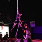 Aerial Fabric Red Ball Performance