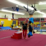 Aerial Fabric Trapeze Open Workout