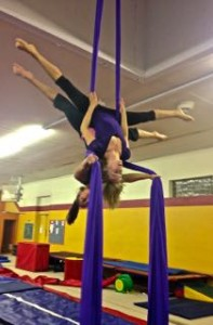 Aerial Fabric Workshop Duo Silks with Amy Nash