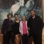 Aerial Fabric at Cavalia Odysseo with Rachel Gauthier