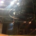 Aerial Fabric backstage at Cavalia Odysseo