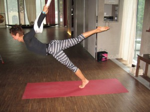 AFA Claudia in Yoga Pose