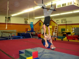 AFA Trapeze Group Action
