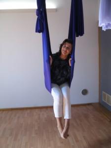 AFA with Rossana in hammock