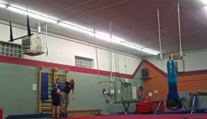 Aerial Fabric Trapeze Open Night June
