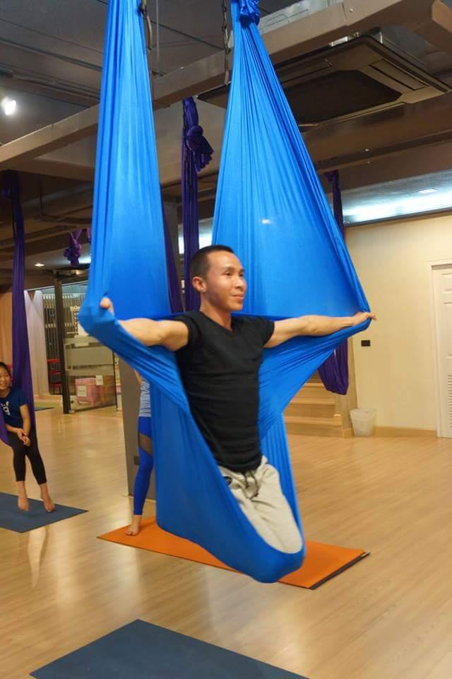 yoga hammock double point aerial silk hammock   aerial hammock for sale   double point hammock  rh   aerialfabric