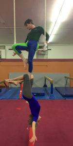 Trapeze Heel Hang