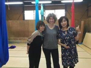 With Akane and Kaori translator