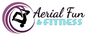 aerial fabric fitness logo