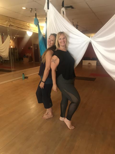 Featured Studio: Yoga Bliss | Aerial Fabric Acrobatics
